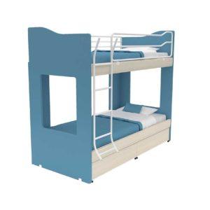Παιδική Κουκέτα Alfa Set Tetra Με Δύο Κρεβάτια