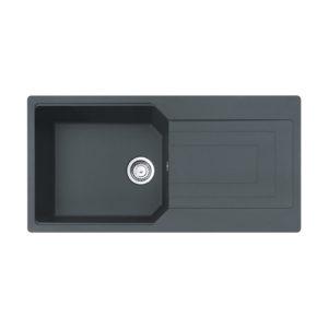Νεροχύτης Carron Aruba 6105 Granite (100X50) 1B 1D Αντιστρεφόμενος