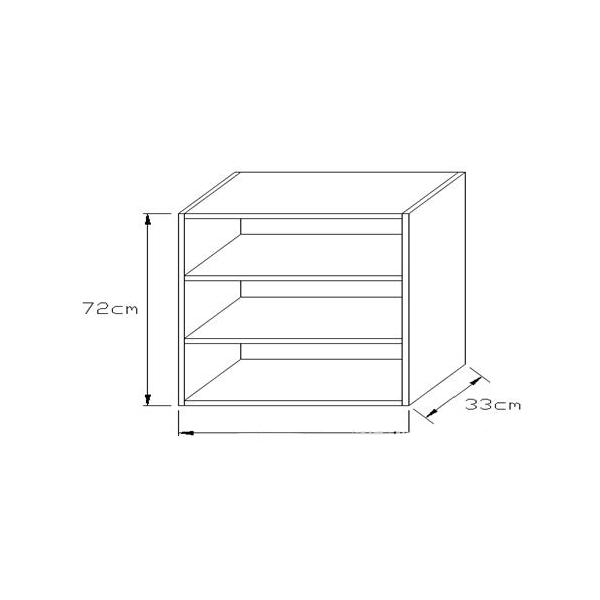 Κουτί Κουζίνας Κρεμαστό 72x15cm