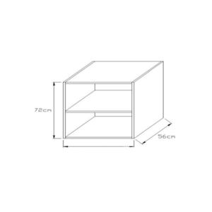 Κουτί Κουζίνας Βάσεως 72x30cm