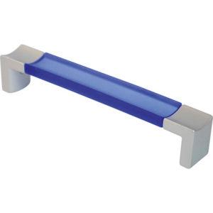 Λαβή Marm Μπλε Azul Με Βάση Νίκελ Ματ