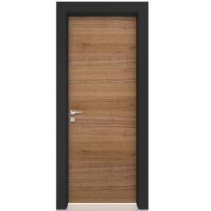 Πόρτα Εσωτερική Alfawood Vero Lefkada Καρυδιά Αμερικής Οριζόντια Νερά
