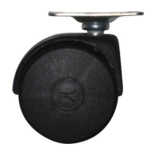 Ροδάκι Mors P2222 Μαύρο