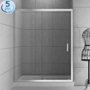 Καμπίνα Μπάνιου Orabella Energy Easy Fix Διάφανη Από Τοίχο Σε Τοίχο Ύψος 190cm Αντιστρέψιμη