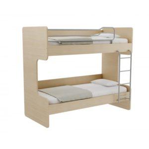Παιδική Κουκέτα Alfa Set Obin Με Δύο Κρεβάτια Για Στρώμα 90x200 Δρυς Φυσικό