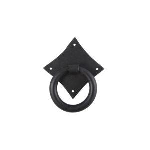 Κρίκος Εξώπορτας Roll Κ324 Χρώμα Μαύρο